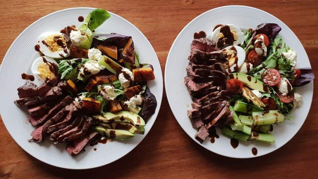 Beef Caprese Salad