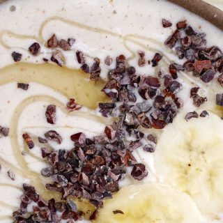 Banana Smoothie Bowl Thermomix Recipe