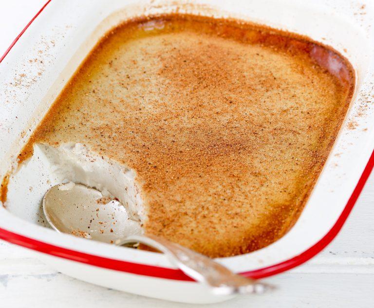 baked custard thermomix recipe