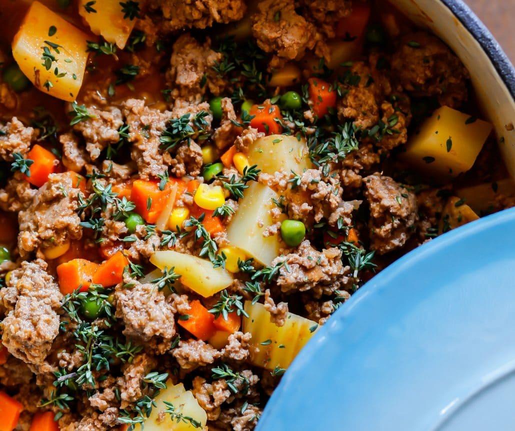 Savoury Mince Thermomix recipe