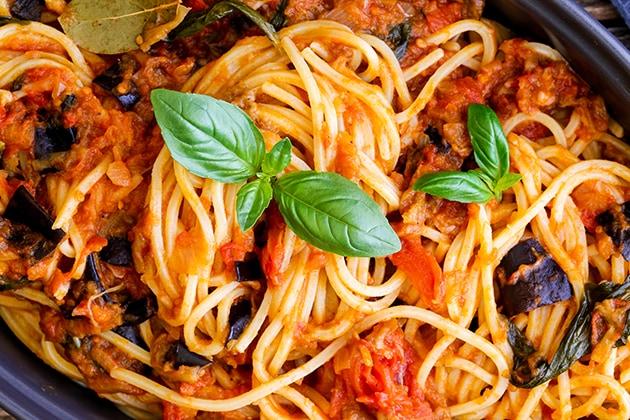 skinnymixer's Pasta Alla Norma (sauce)