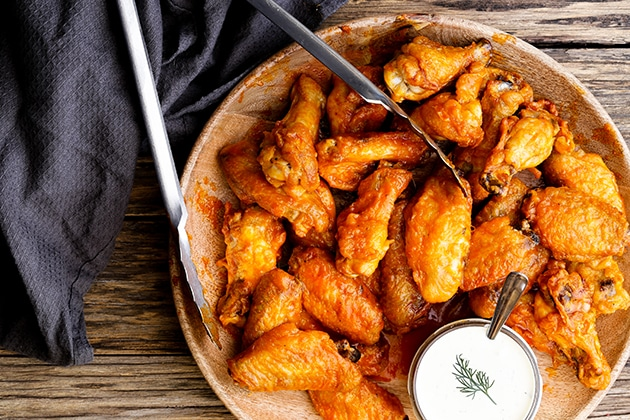 Buffalo Wings Thermomix Recipe