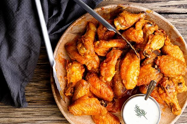 Buffalo Wings Thermomix Recipe