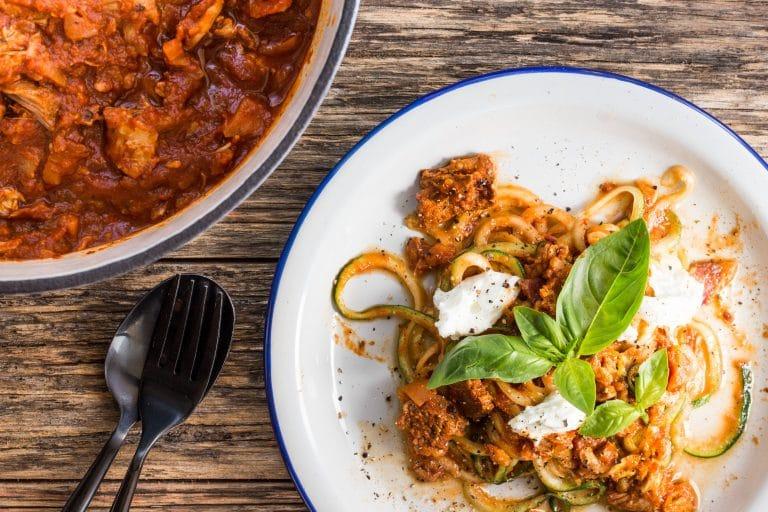 Tre Carne Ragu Italian recipe