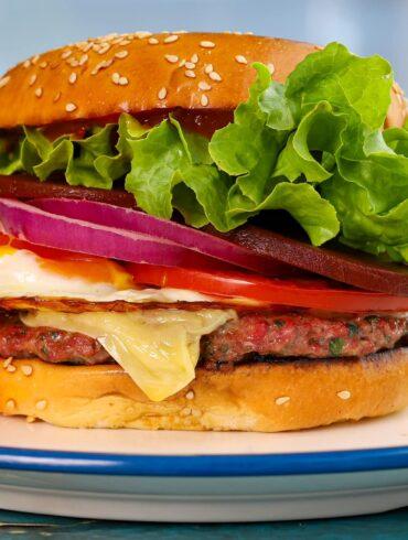 Aussie Lamb Burger