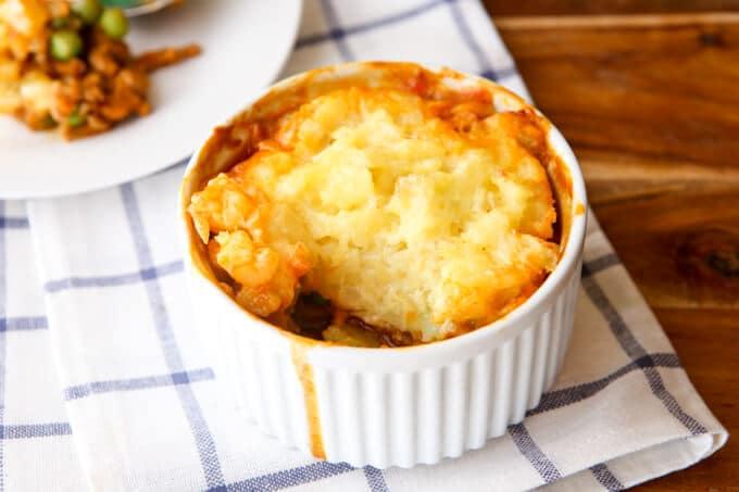 Rustic Shepherd's Pie Thermomix Recipe