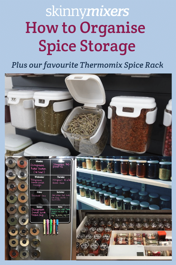 How to organise spice storage