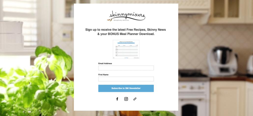 meal planner download
