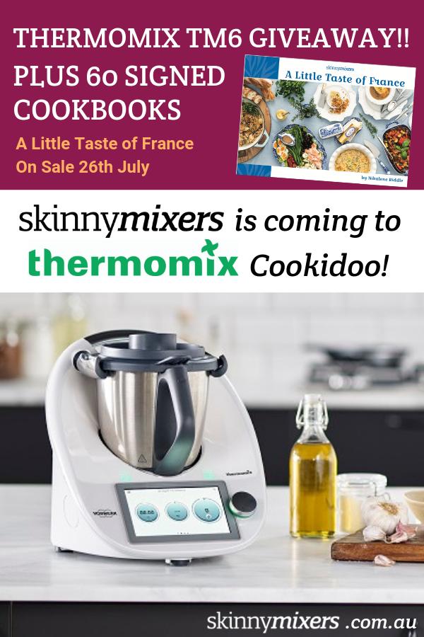 Thermomix TM6 Giveaway ! Skinnymixers on Cookidoo