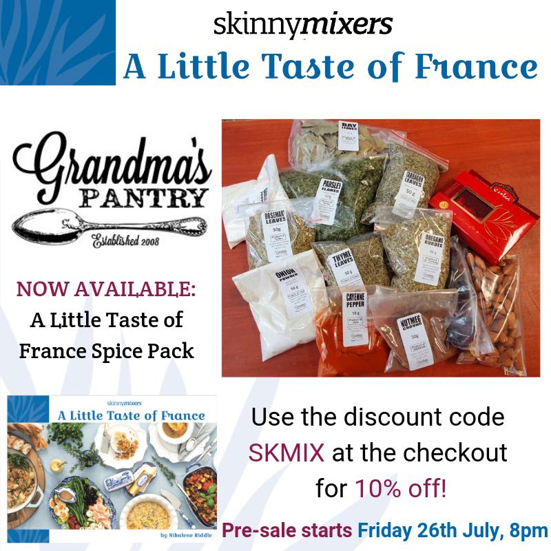 A Little Taste of France Spice Pack