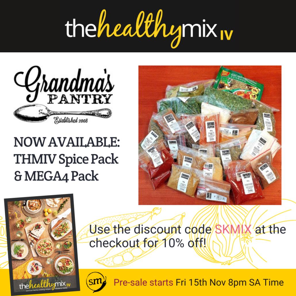 Grandma's Pantry Spice Pack