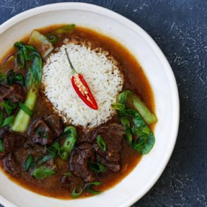 Slow Cooked Chinese Beef Cheeks