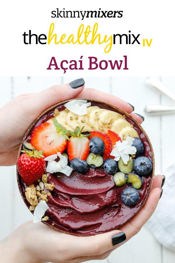 Açaí Bowl Thermomix Healthy Recipe
