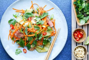 Vietnamese Beef Salad Thermomix Skinnymixers