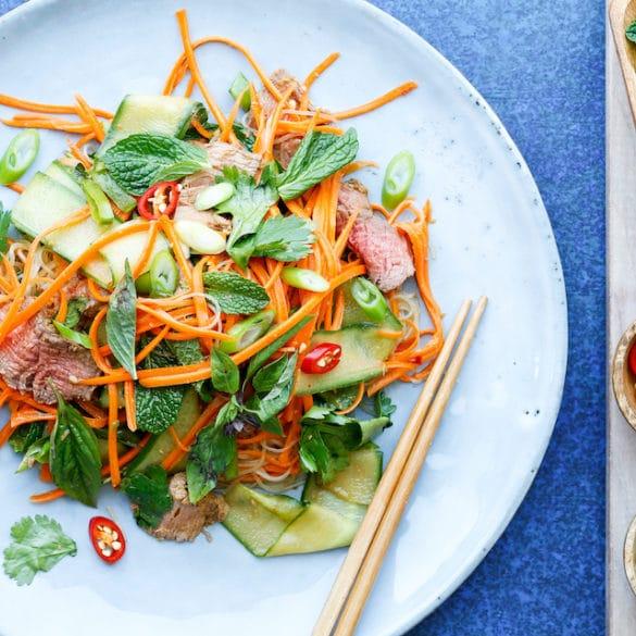 Vietnamese Beef Salad Thermomix Skinnymixers