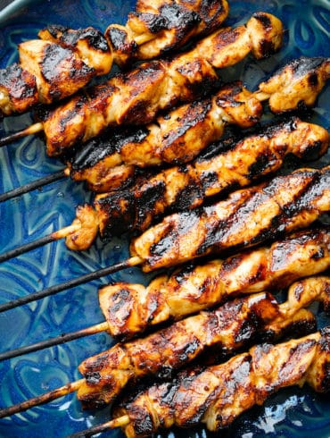 BBQ Chicken Kebabs Skinnymixers Thermomix marinade