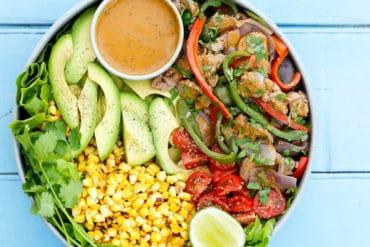 Fajita Beef Salad Thermomix