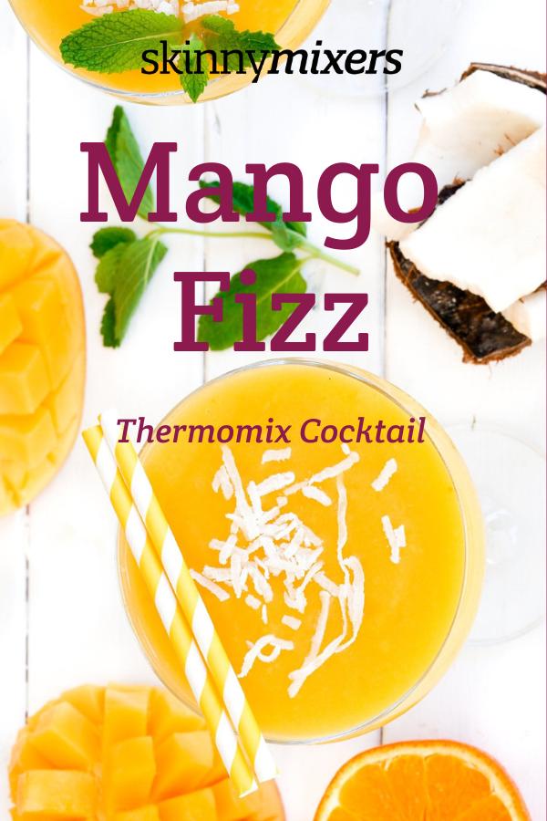 Mango Fizz Thermomix Cocktail