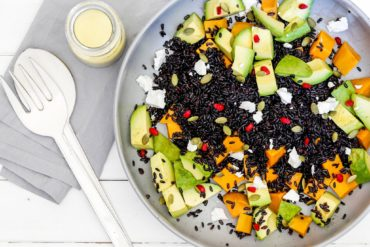 Black Rice & Sweet Potato Salad Thermomix