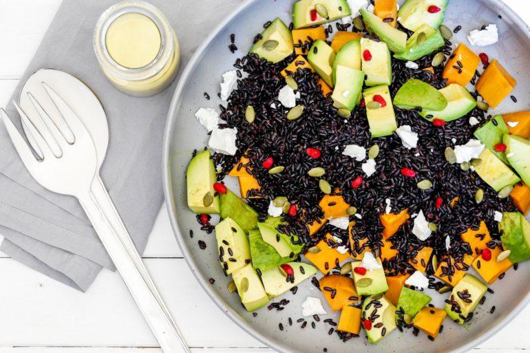 Black Rice & Sweet Potato Salad Thermomix