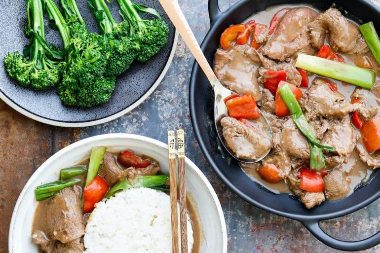 Mongolian Beef Thermomix recipe Skinnymixers