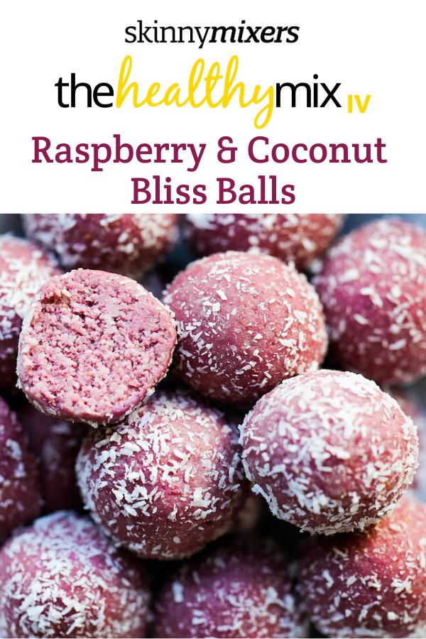 Raspberry & Coconut Bliss Balls Thermomix recipe