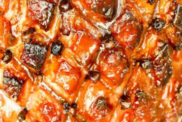 skinnymixers glazed ham Thermomix