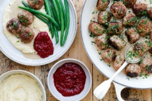 Swedish Meatballs all-in-One Thermomix