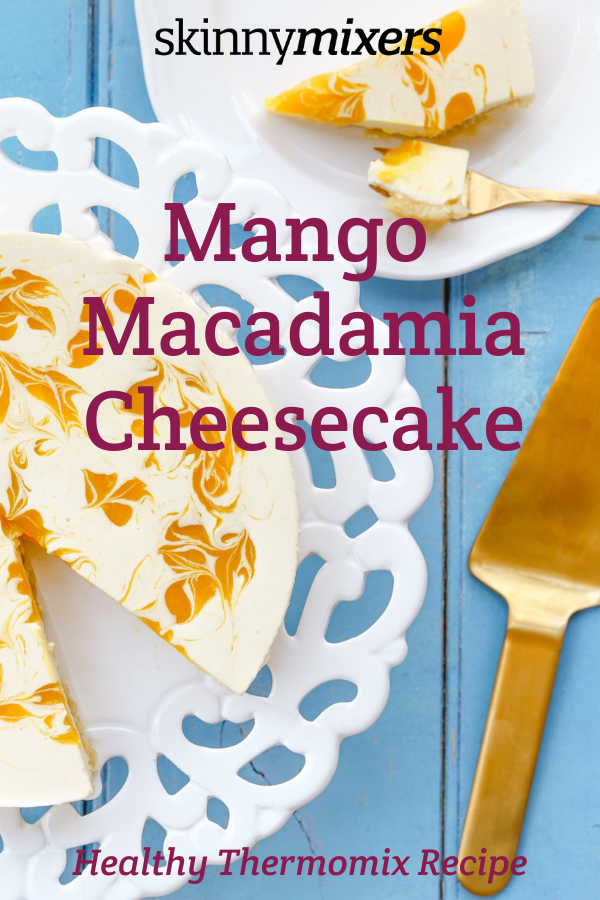 Mango Macadamia Cheesecake Thermomix Recipe