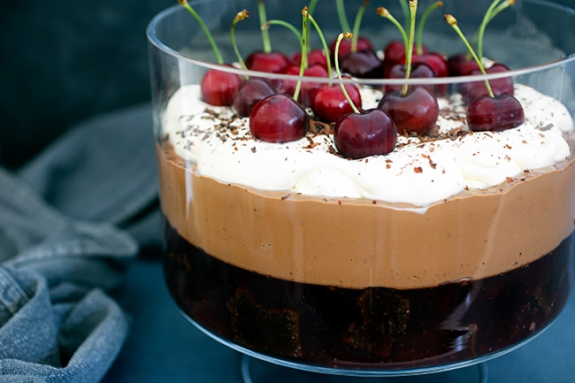 Black Forest Trifle Thermomix recipe
