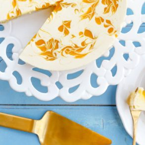 Thermomix Mango Macadamia Cheesecake