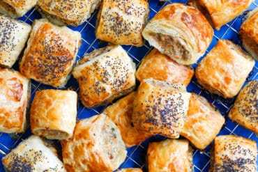 Skinnymixers Sausage Rolls Thermomix
