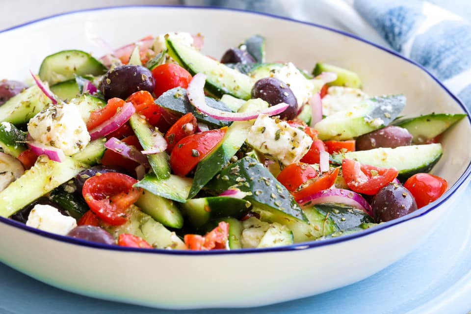 Skinnymixers Greek Salad