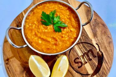 Skinnymixers Red Lentil Dahl Thermomix