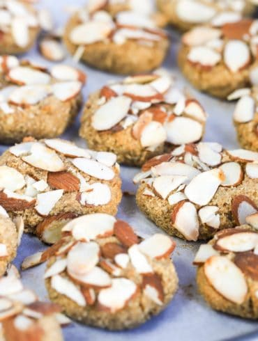 Greek Almond Biscuits Skinnymixers