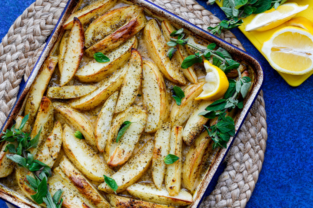 ALToG: Lemon Oregano Potatoes