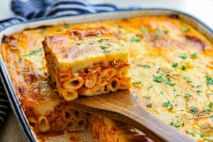 Pastitsio Skinnymixers Greek