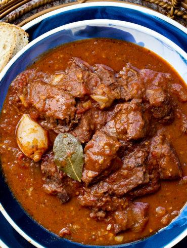 Stifado Greek Stew
