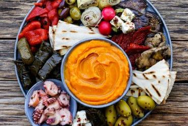 Skinnymixers Sweet Potato Skordalia