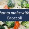 Broccoli Thermomix
