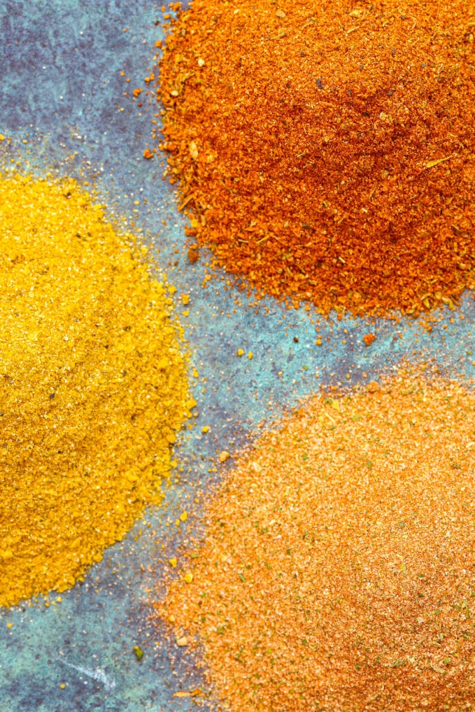 Spice Mixes All Purpose, Cajun and Moroccan