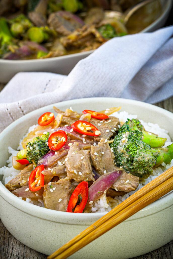 Beef & Broccoli Thermomix