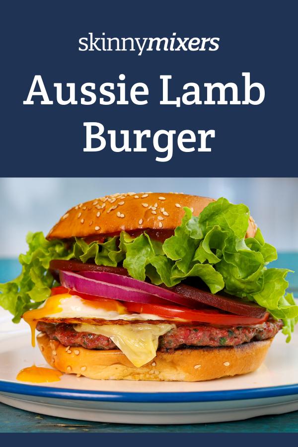 Aussie Lamb Burger Thermomix
